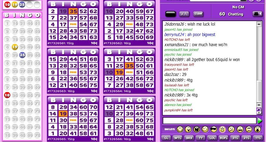 Which are the best bingo sites at Cashcade?
